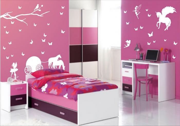 Комната для девочки 6-7 лет 4