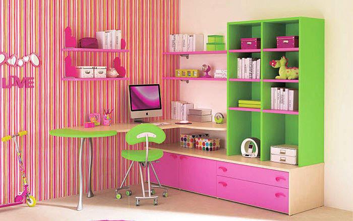 Комната для девочки 6-7 лет 5