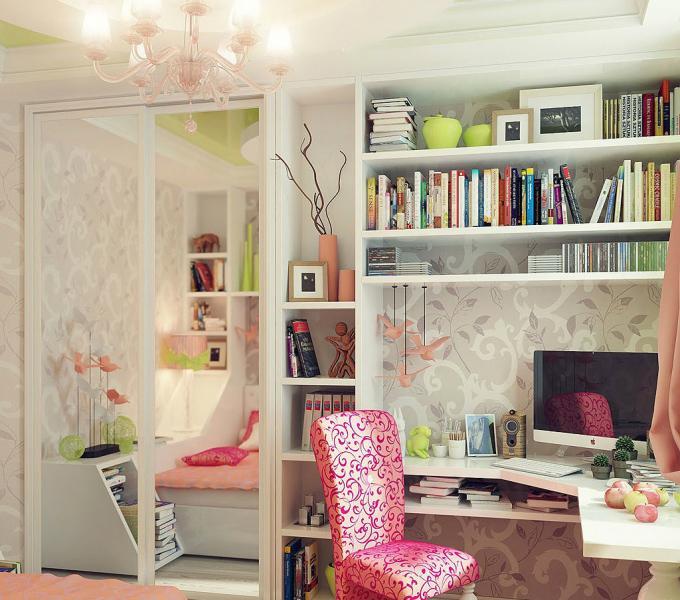 Дизайн интерьера детской спальни 10