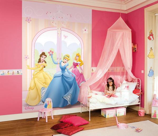 Комната для девочки 2-3 лет 4
