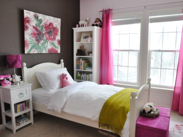 Дизайн интерьера спальни для детей 4