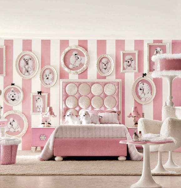 Дизайн интерьера спальни для детей 9