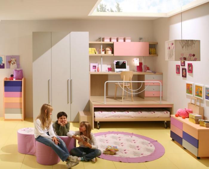 Спальня для девочки 2