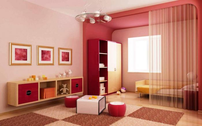 Спальня для девочки 3