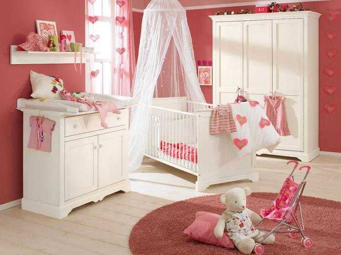 Комната для девочки 2-3 лет 5