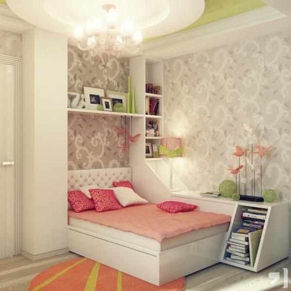 Тонкости создания детской комнаты для сна - фото