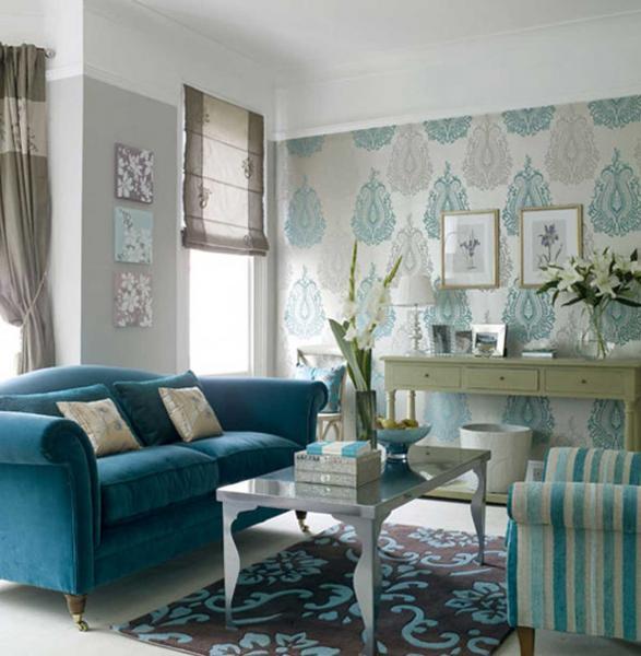 Brown decor living room