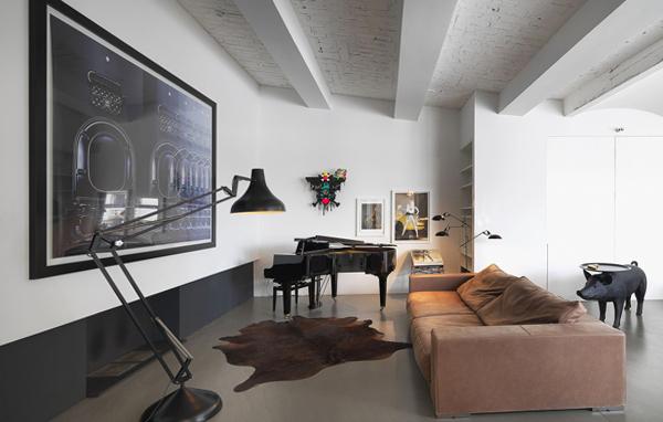 Интерьер потолков с балками фото