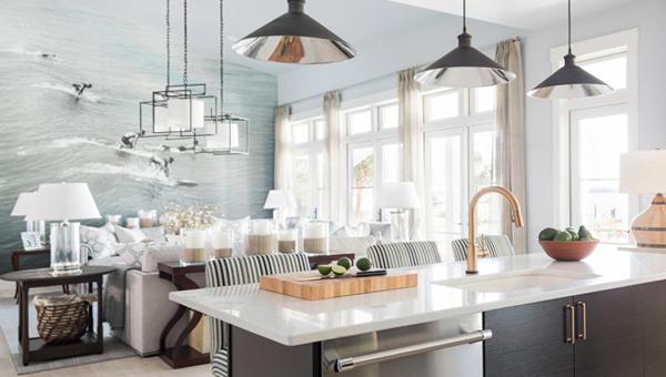 Гостиная с кухней - 01