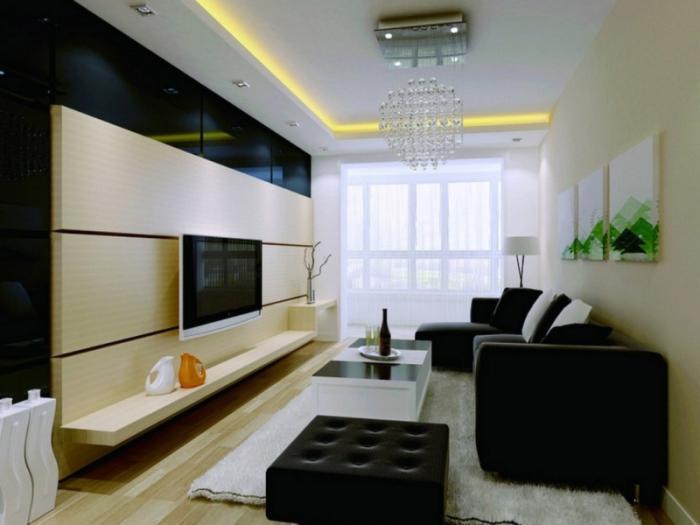 Фото дизайна гостиной 18 кв. м
