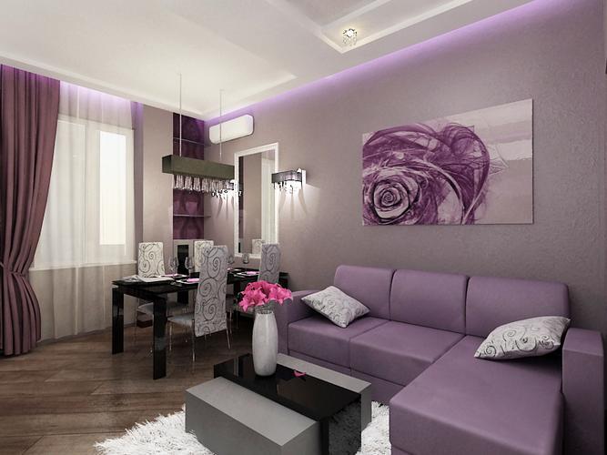 Сочетание цветов в дизайне спальни 355