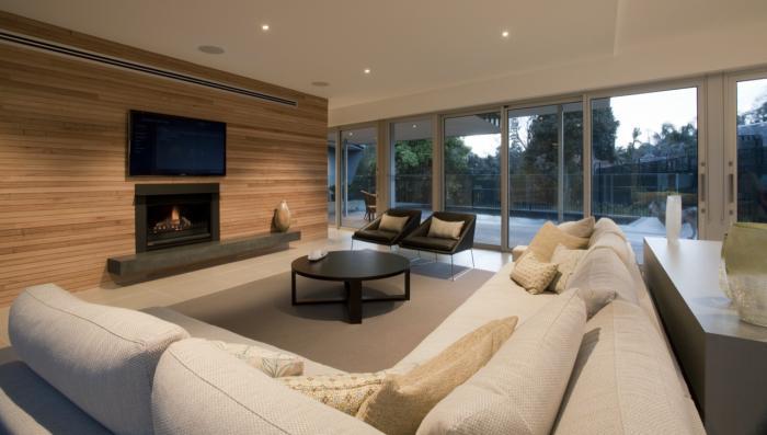 Фото дизайна гостиной в частном доме