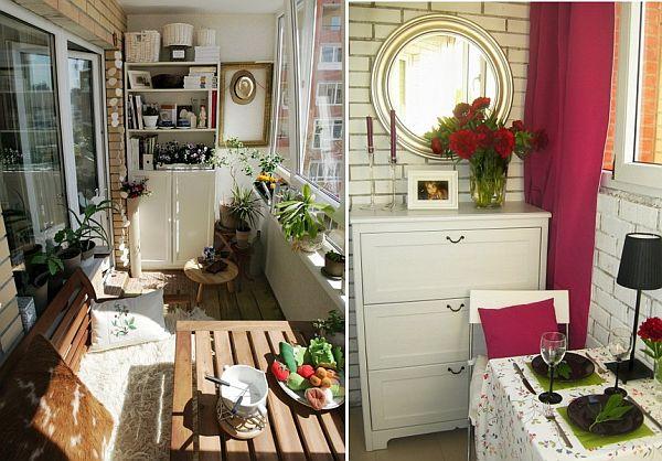 Кухня в балконе дизайн своими