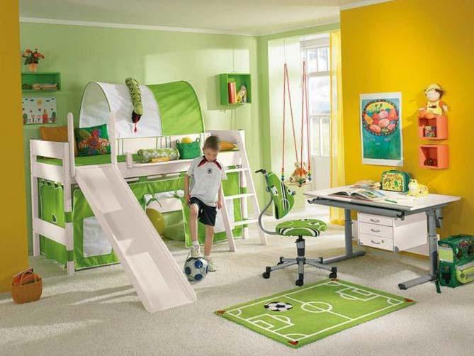 Варианты дизайна детской