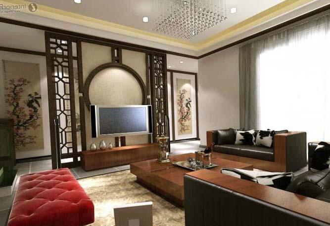 Комната в стиле классика