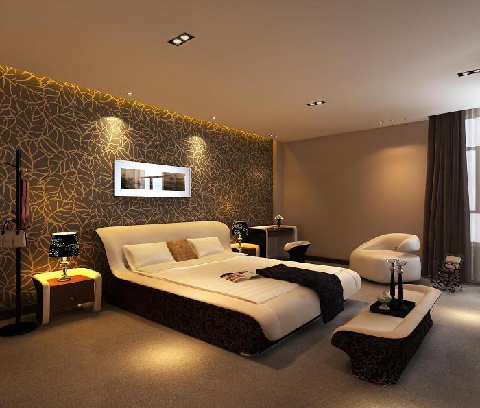 Фото дизайна спальной комнаты