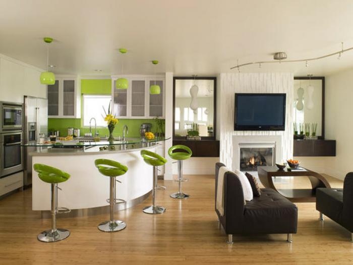 Дизайн кухни-гостиной - фото 10