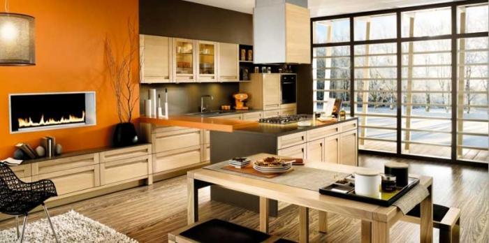 Дизайн кухни-гостиной - фото 12