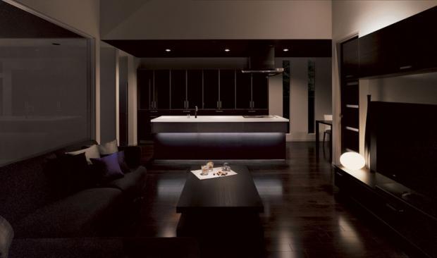 Дизайн кухни-гостиной - 17