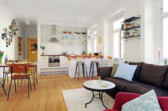 Дизайн кухни-гостиной - фото 20