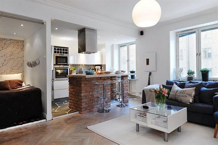 Дизайн кухни-гостиной - фото 21