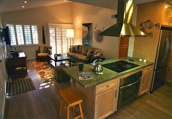 Дизайн кухни-гостиной - 20