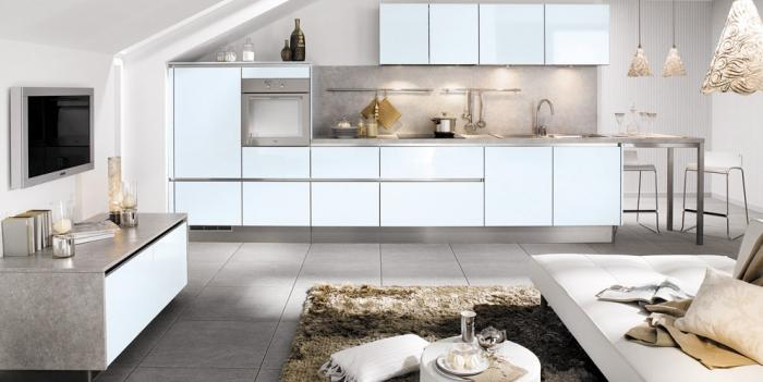 Дизайн кухни-гостиной - фото 24