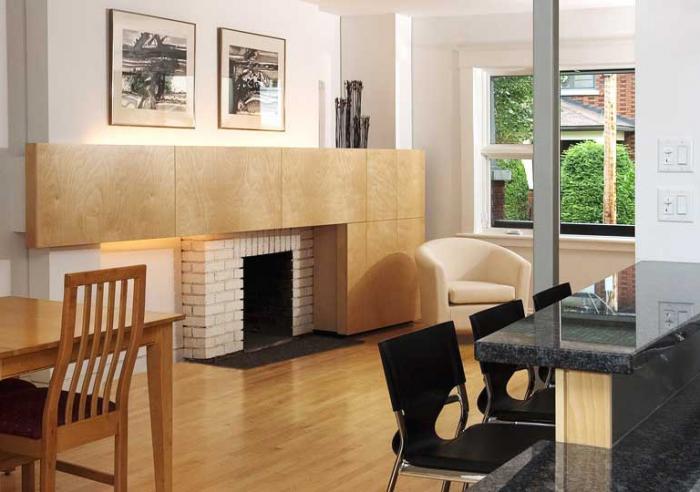 Дизайн кухни-гостиной - 7