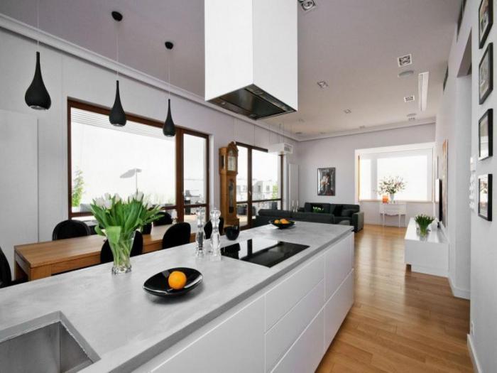 Дизайн кухни-гостиной - фото 8