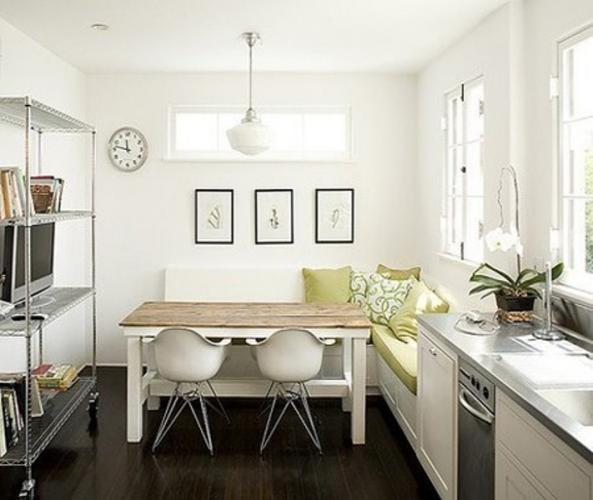 Планировка кухни 10 кв м с балконом - фото 1