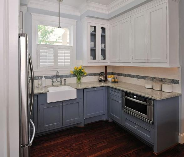 Планировка кухни 10 кв м - фото 9