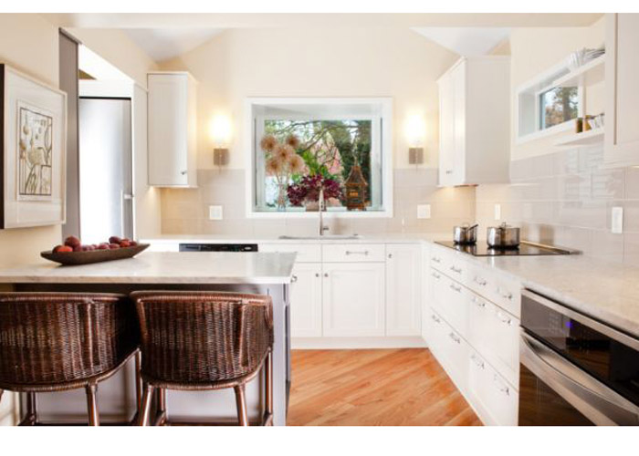 Планировка кухни 10 кв м - фото 7