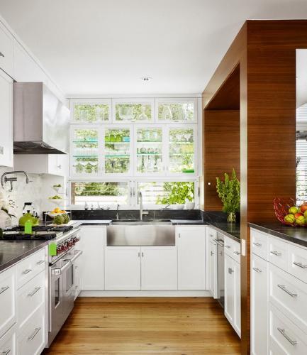 Планировка кухни 10 кв м - фото 10