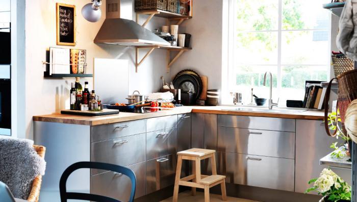 Дизайн кухни 10 квадратных метров - фото 1