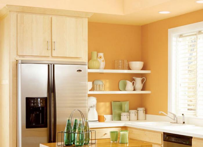 Дизайн кухни небольшого размера
