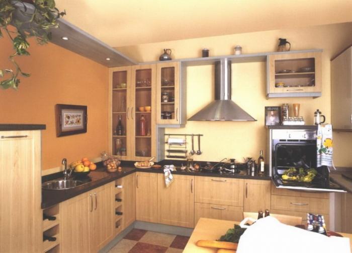 Дизайн кухни 10 квадратных метров - фото 6