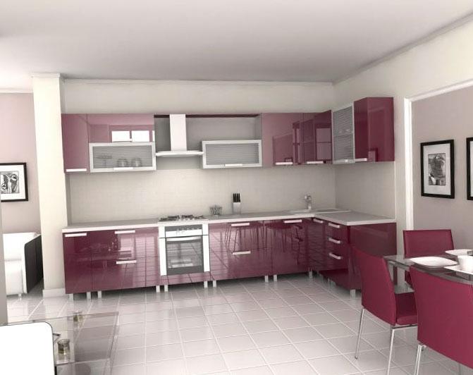 Кухонный уют в частном доме