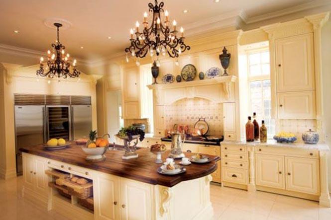 Изюминка интерьера кухни обои