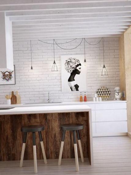 Дизайн кухни 9 кв м 12