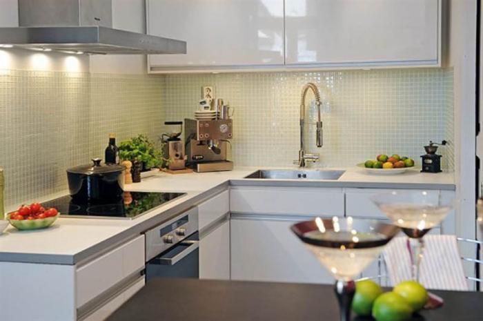 Дизайн кухни 9 кв м 2