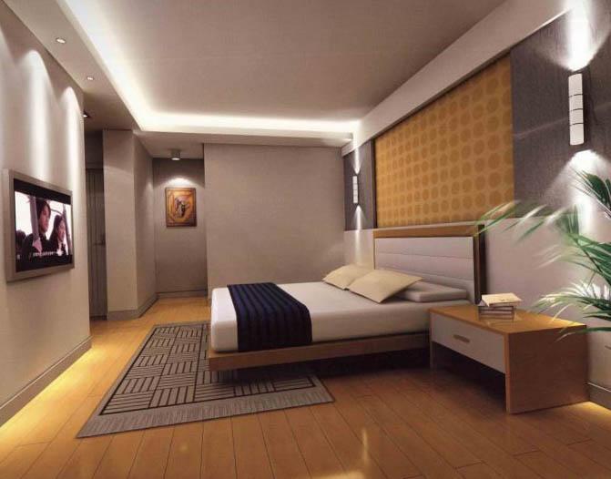 Дизайн спальной комнаты 6