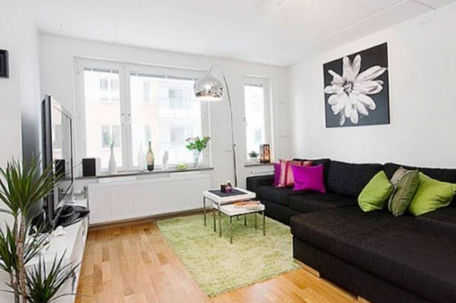 Фото дизайна квартиры-студии