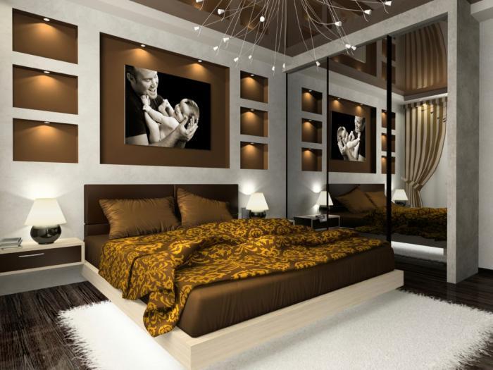 Дизайн спальни в квартире 4