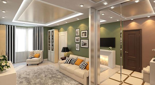 Дизайн квартиры 2017 (двухкомнатная) – 1