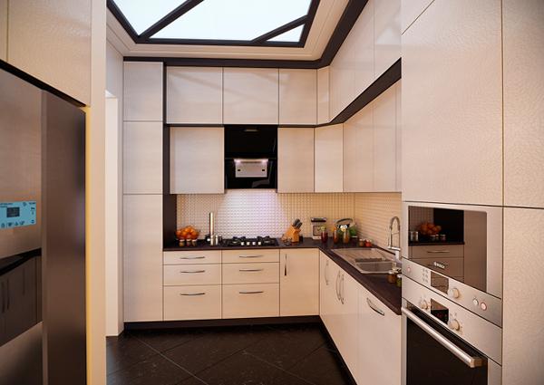 Дизайн квартиры 2017 (кухня) – 1
