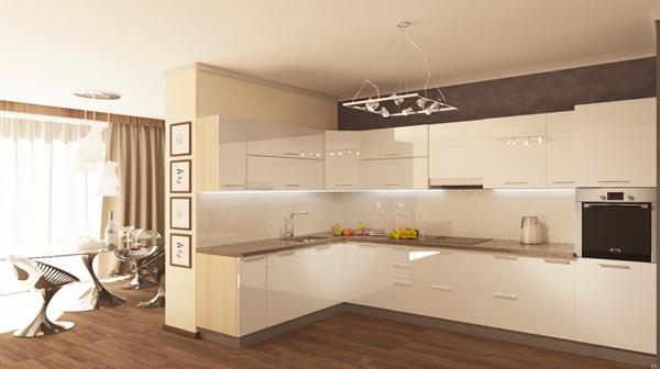 Дизайн квартиры 2017 (кухня) – 3