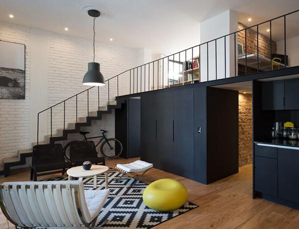 Дизайн квартиры 2017 (лофт) – 3