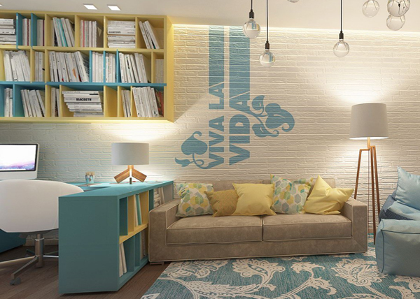 Дизайн квартиры 2017 (мягкая мебель) – 3