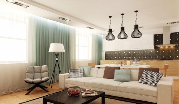 Дизайн квартиры 2017 (мягкая мебель) – 4
