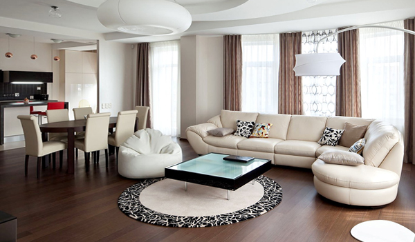 Дизайн квартиры 2017 (однокомнатная) – 1